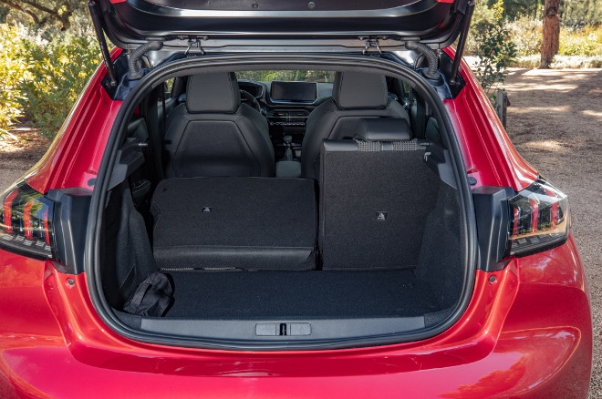 Peugeot 208 neu, Kofferraum