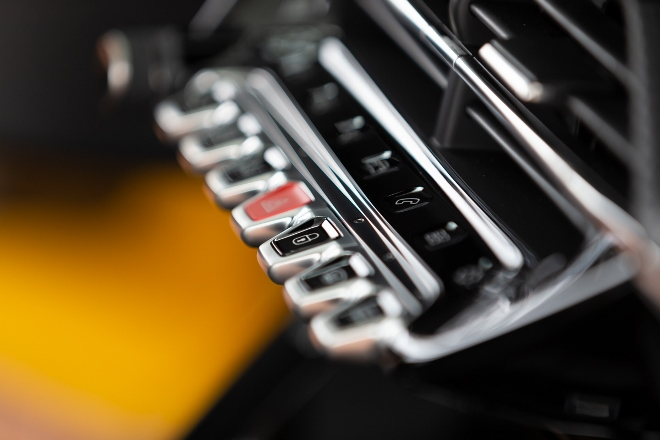Peugeot 208 neu, Tasten Mittelkonsole