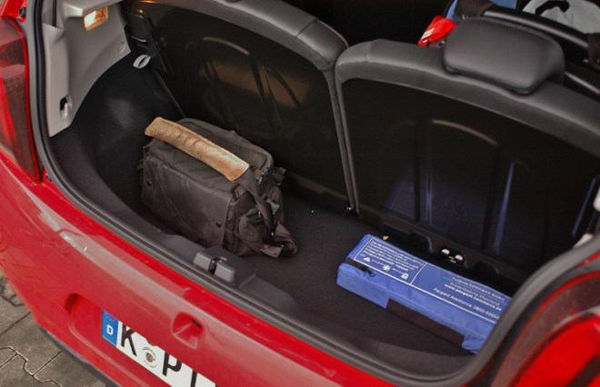 Peugeot 108 Test Kofferraum