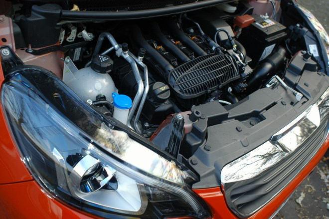 Peugeot 108 Test Motor 82 PS