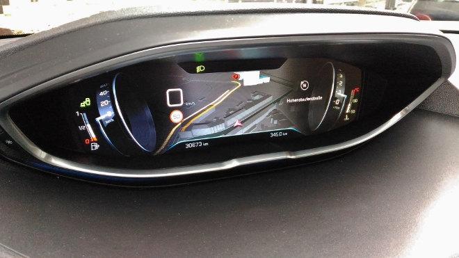 Peugeot 3008 Digitale Instrumente, Digitaltacho