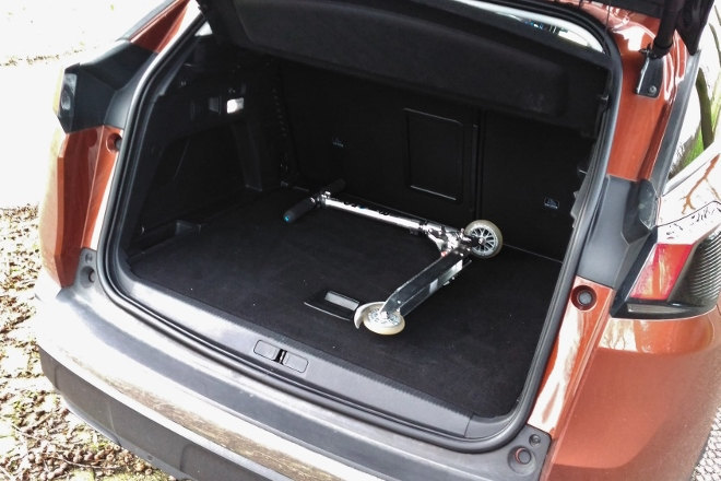 Peugeot 3008 Kofferraum, Volumen
