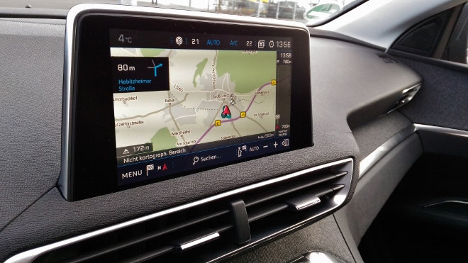 Peugeot 3008 Monitor, Touchcreen