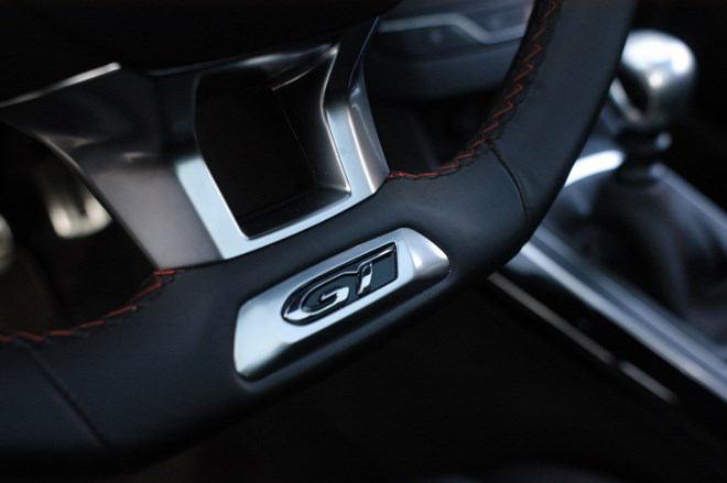 Peugeot 308 GT Lenkrad