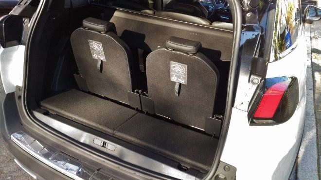 Peugeot 5008 GT Sitze sechs und siebem