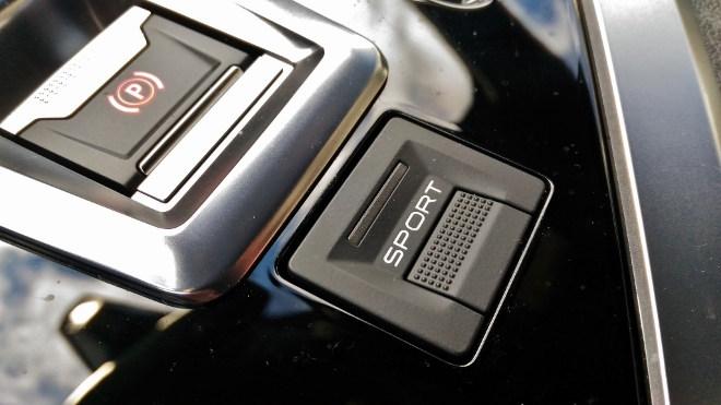 Peugeot 5008 GT Sporttaste, Parkbremse