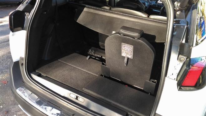 Peugeot 5008 GT ausgeklappter siebter Sitz
