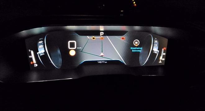 Peugeot 508 GT i Cockpit Nachtbeleiuchtung