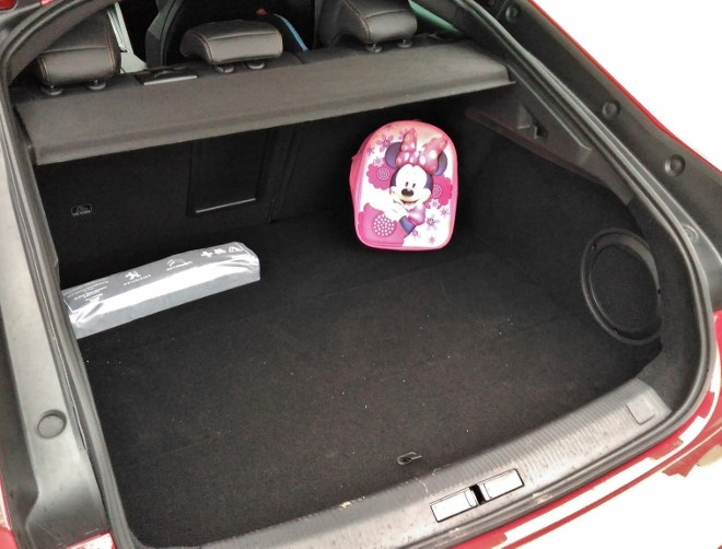 Peugeot 508 GT Kofferraum