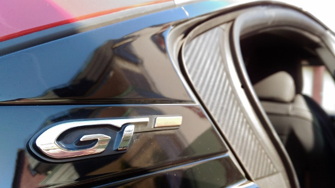Peugeot 508 GT Emblem, Flanke