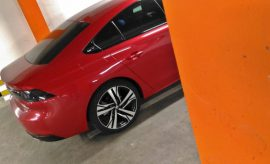 Peugeot 508 GT in Rot, Heck