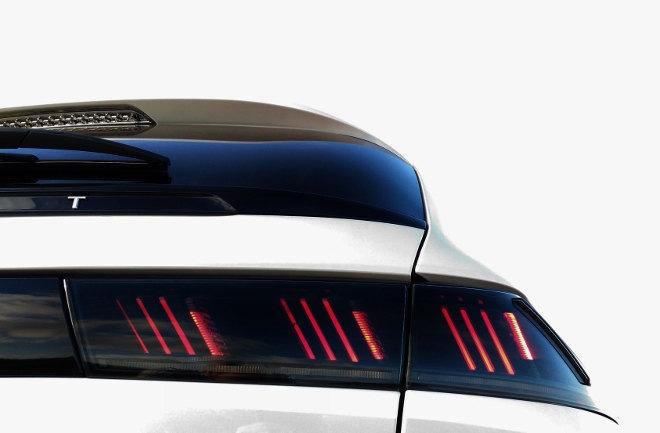 Peugeot 508 SW weiss Heckleuchten 2019