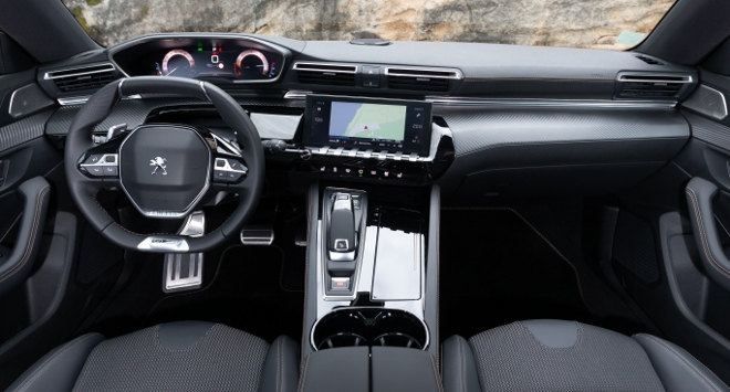 Peugeot 508SW 2019 i-Cockpit, Cockpit, Lenkrad