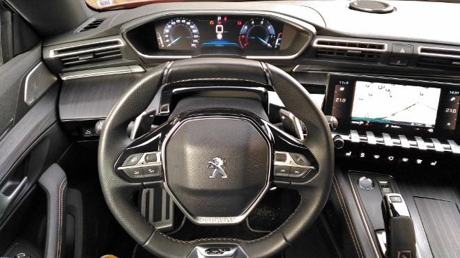Peugeot 508 GT i Cockpit