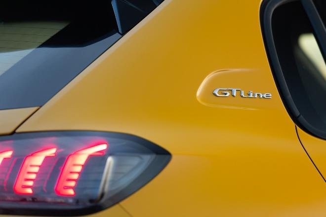 Neuer Peugeot 208 2020 in gelb