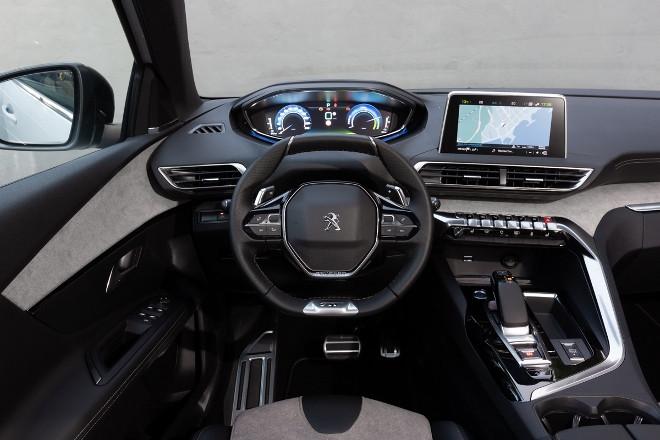 Peugeot 3008 Hybrid4 Armaturenbrett, i cockpit