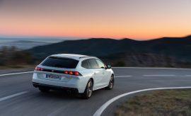 Peugeot 508 Kombi Plug in Hybrid Heck