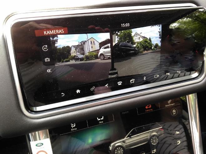 Range Rover Sport P400 Kamera vorne und hinten, seitlich