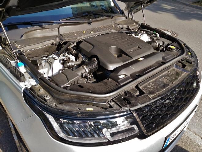 Range Rover Sport P400 400 PS Motor mit 6 Zylindern und Mild Hybrid Technik