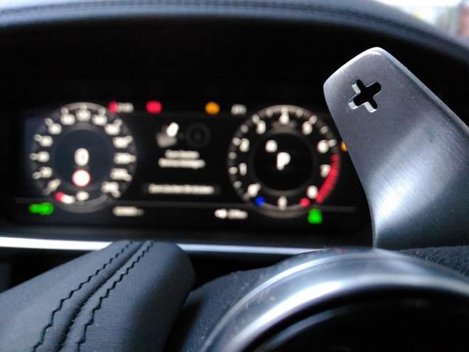 Range Rover Sport P400 Schaltwippe der Automatik