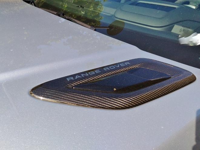 Range Rover Sport P400 Karbon Motorhaube
