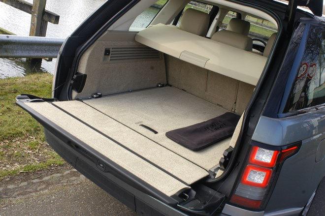 Range Rover Kofferraum