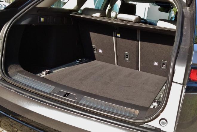 Range Rover Velar Kofferraum Volumen
