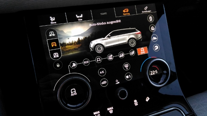 Range Rover Velar Bildschirme