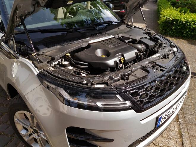 Range Rover Evoque neuer: D240 mit 240 PS starkem Diesel