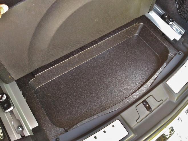 Range Rover Evoque 2 Fach im Kofferraumboden, Bodenfach