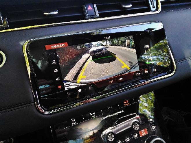 Range Rover Evoque Bildschirme und Kamera