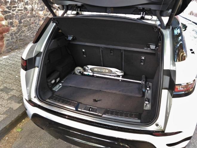 Range Rover Evoque 2 Kofferraum und Kofferraumvolumen