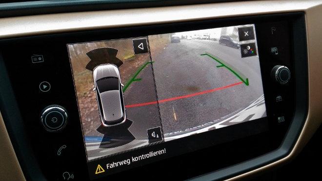 Seat Ibiza 2018, Rundumsichtsystem, Parkkamera