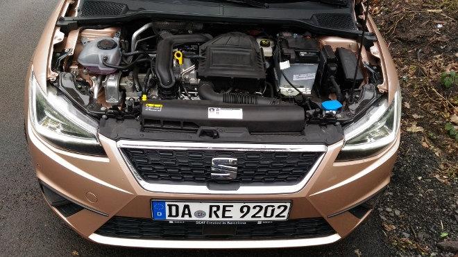 Seat Ibiza 2018, 1.0 Dreizylindermotor, 115 PS
