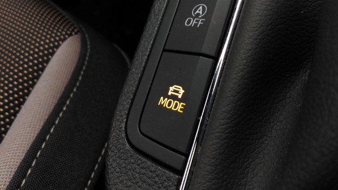 Seat Ibiza 2018, Driveprofil, Drive Profile Schalter