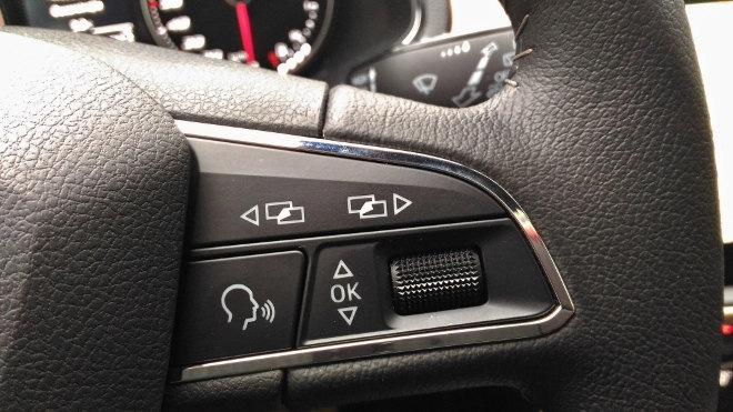 Seat Ibiza 2018, Lenkrad Xcellence, Multifunktion