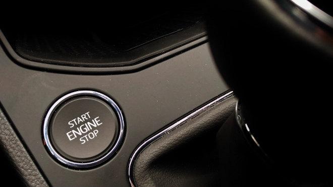 Seat Ibiza 1.0 Tacho, Startknopf