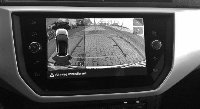 Seat Arona, Rückfahrkamera Bildschirm