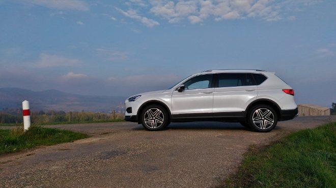 Seat Tarraco SUV weiss