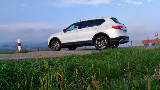 Seat Tarraco SUV weiss