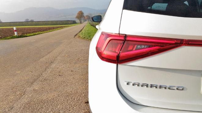 Seat Tarraco SUV Heckleuchten