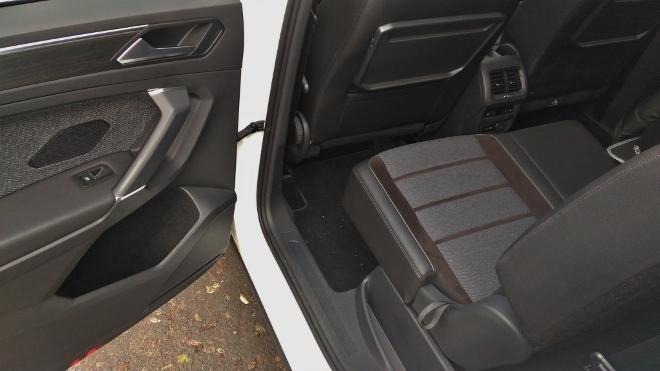 Seat Tarraco SUV weiss, Rückbank verschiebbar