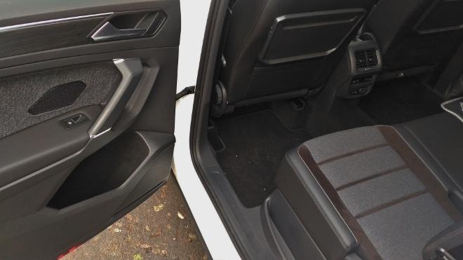 Seat Tarraco SUV weiss Sitze hinten