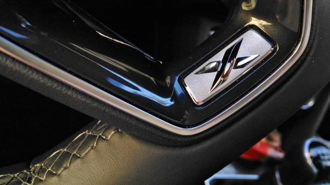 Seat Tarraco SUV weiss Lenkrad