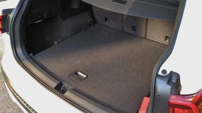 Seat Tarraco SUV weiss Kofferraum