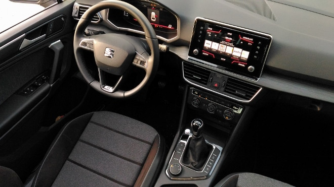 Seat Tarraco SUV Instrumente und Lenkrad