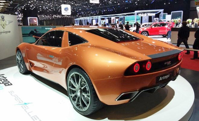 Genfer Autosalon 2017: Sporwagen und Supersport Cars, Artega