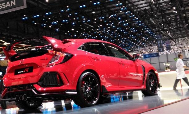 Autsalon Genf 2017 Sportwagen und Supersportwagen, Honda Civic Type R 2017