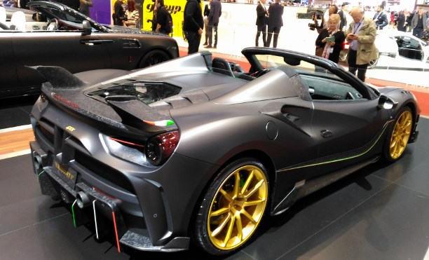 Autsalon Genf 2017 Sportwagen und Supersportwagen