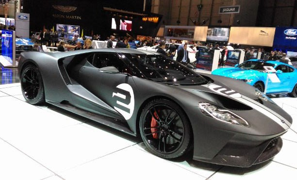 Sportwagen auf der Automesse Genf 2017, Ford GT